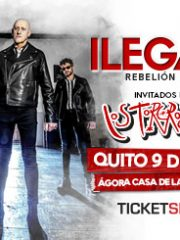 "ILEGALES ""REBELIÓN TOUR 2019"" – QUITO"