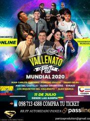 Vallenato Fest Mundial 2020 – Live Ecuador
