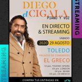 Concierto de El Cigala en Toledo